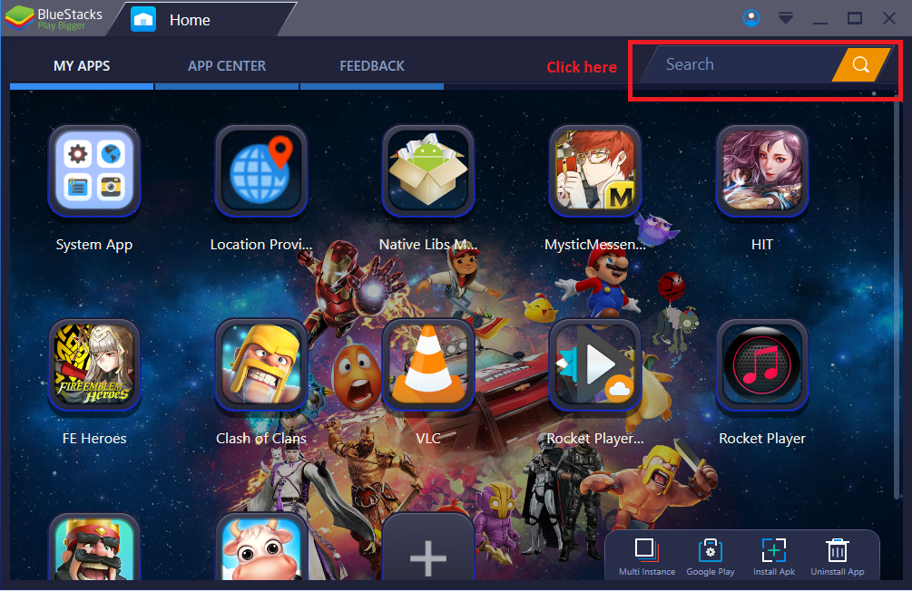 Image result for bluestacks play store amazon prime videos