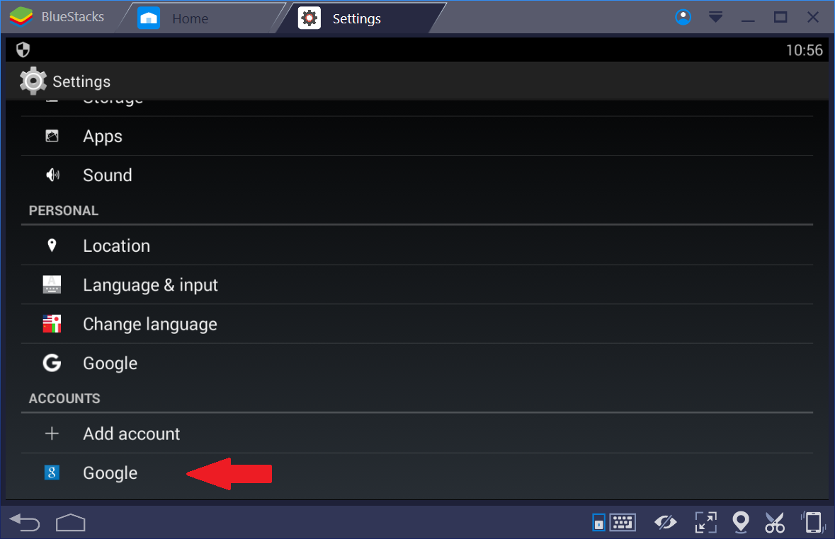 How To Addremove An Account On Bluestacks Bluestacks Support