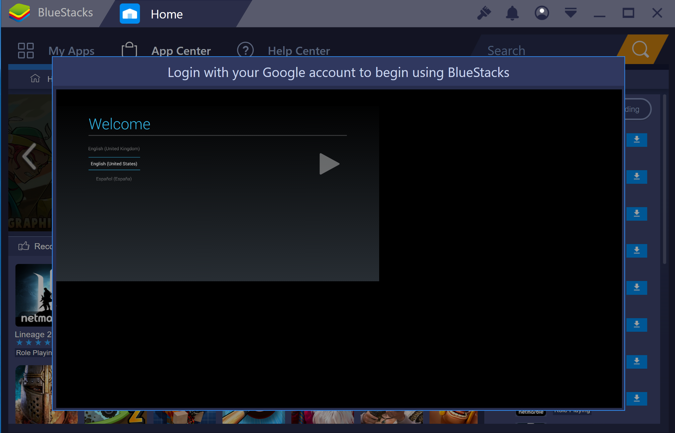 Troubleshooting Google login issues – BlueStacks Support