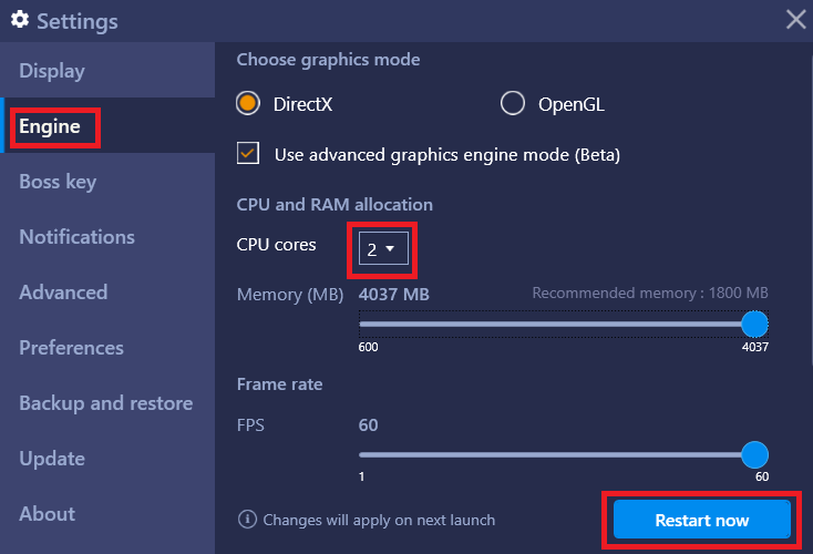 How can I allocate more CPU cores to BlueStacks? – BlueStacks Support