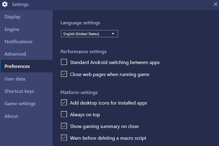How can I customize BlueStacks 4 settings? – BlueStacks Support