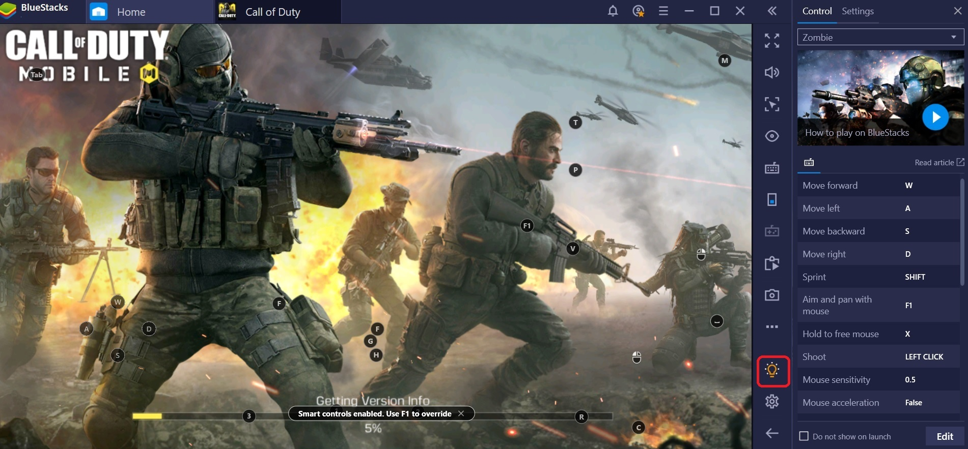Bluestacks 4 160 Keyboard Controls For Call Of Duty
