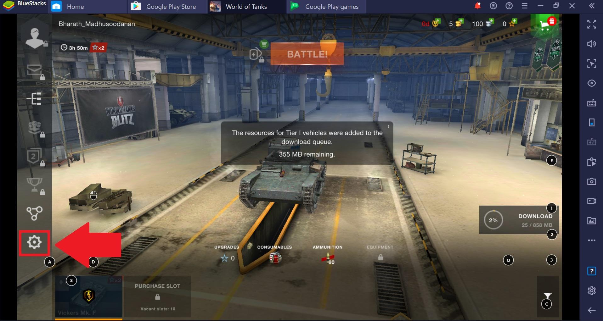 Recommended Graphics Settings For World Of Tanks Blitz Mmo On Bluestacks 4 Bluestacks Support