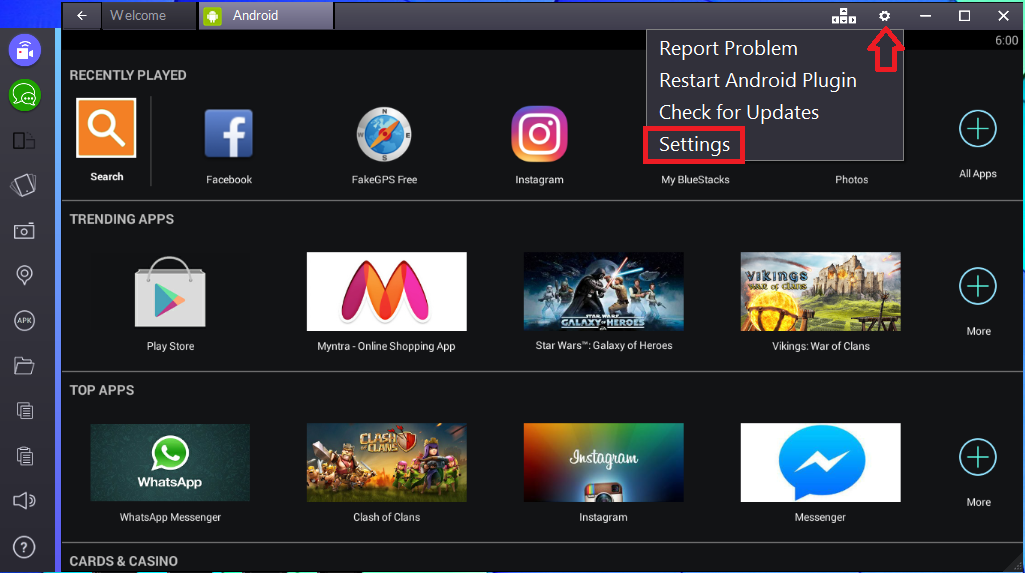 """Failed to load channels"" troubleshooting!! – BlueStacks"