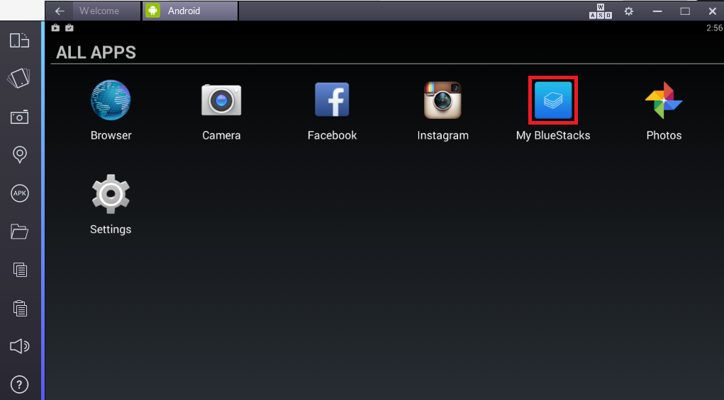 bluestacks 2.5